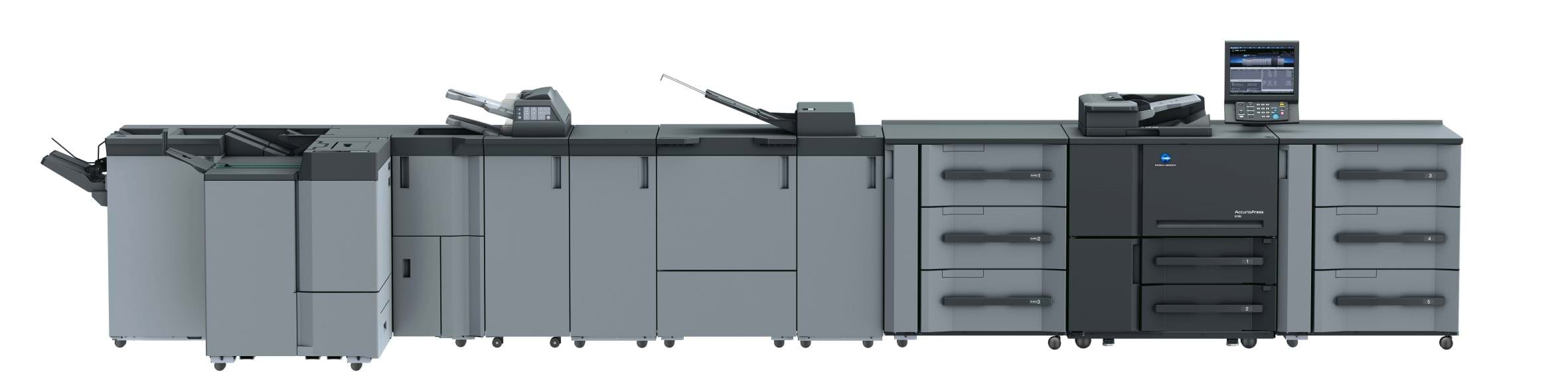 Imprimantă profesională Konica Minolta accurio press 6136P