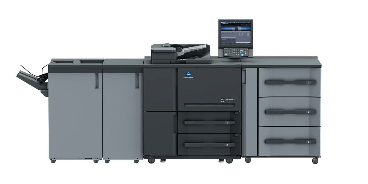 Imprimantă profesională Konica Minolta accurio press 6136